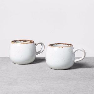 Hearth & Hand Reactive glaze mug round set 0f 2